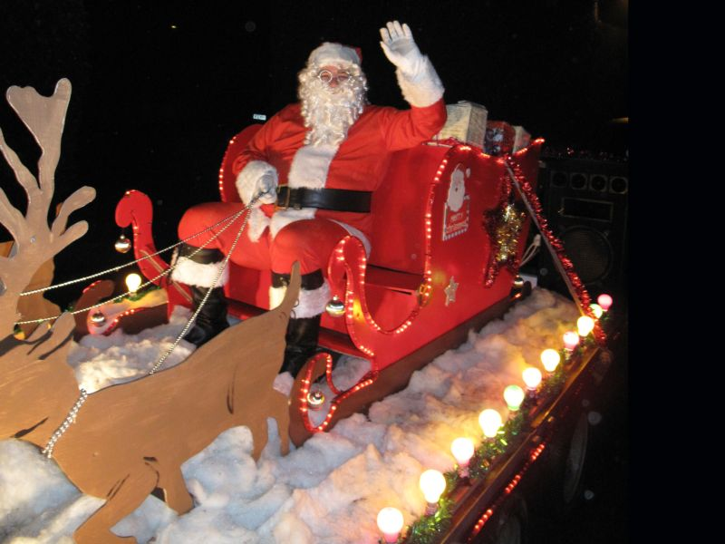 Father Christmas on tour